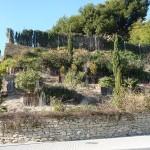 Traviesas para formar terrazas en jardinería