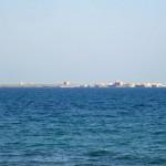 Fondo de hoy: Tabarca desde Santa Pola