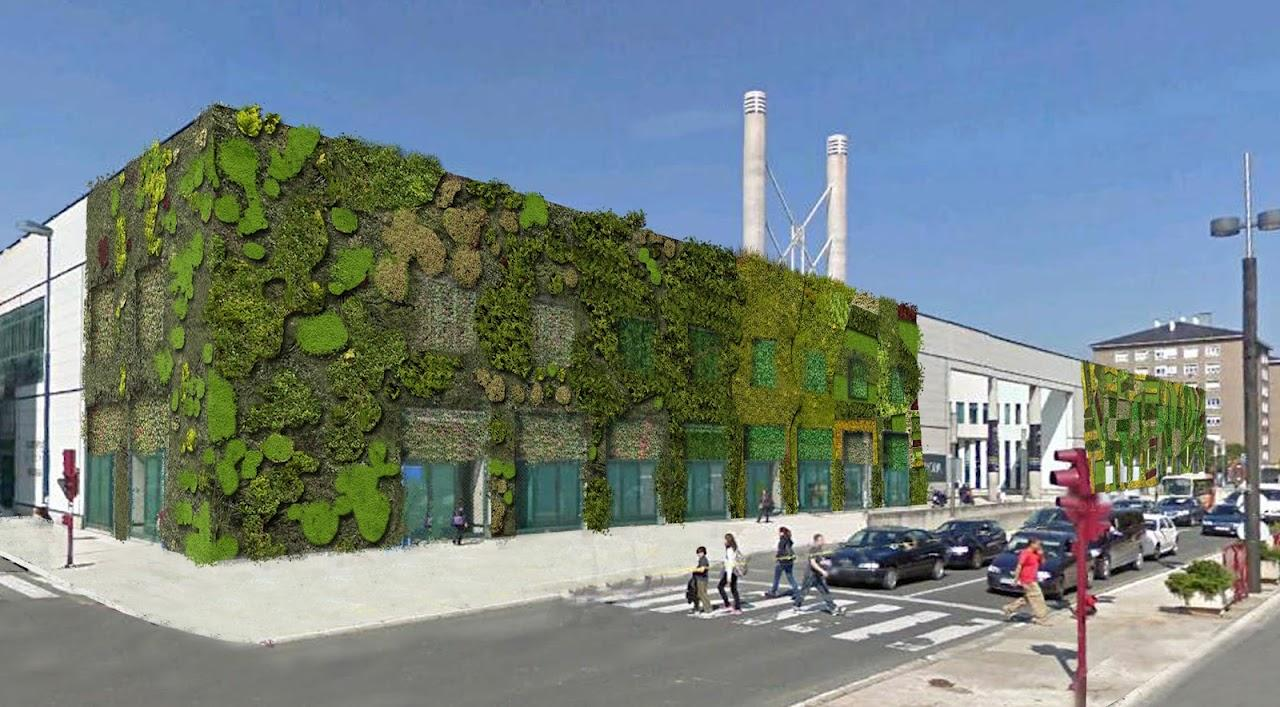 Redactamos el proyecto de fachada vegetal del palacio de for Proyecto jardines verticales