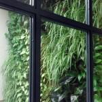 Jardín vertical Leaf.Box de baja demanda lumínica
