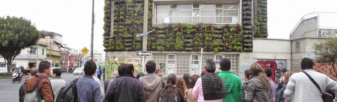 Curso de Jardines verticales y cubiertas vegetales en Medellín
