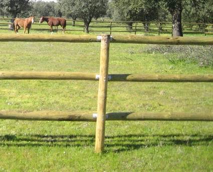 C mo no se hace un vallado de madera alicante forestal - Vallado de madera ...