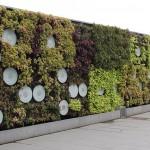 Jardín vertical sencillo y funcional de Shanghái