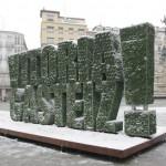 Escultura vegetal en Vitoria-Gasteiz