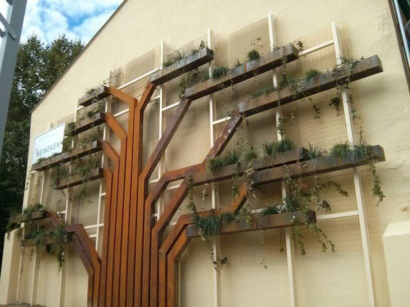 jardín vertical jardines verticales green wall vertical garden vitoria gasteiz