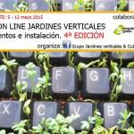 Curso on-line de jardines verticales, 4ª edición