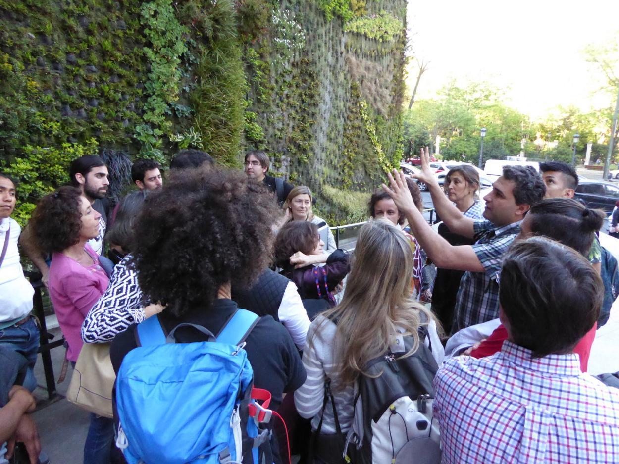 Curso de jardines verticales en madrid alicante forestal for Jardines verticales alicante