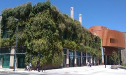 Jardín vertical en Vitoria-Gasteiz