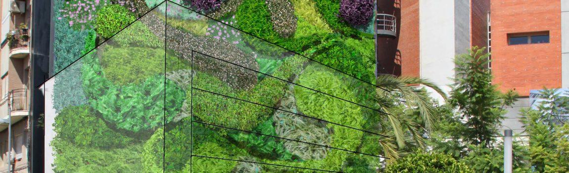 Rehabilitación del jardín vertical de San Vicente