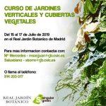 Nuevo curso presencial en el Jardín Real Botánico de Madrid